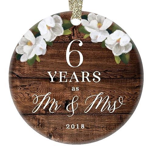 6th Wedding Anniversaries Amazon