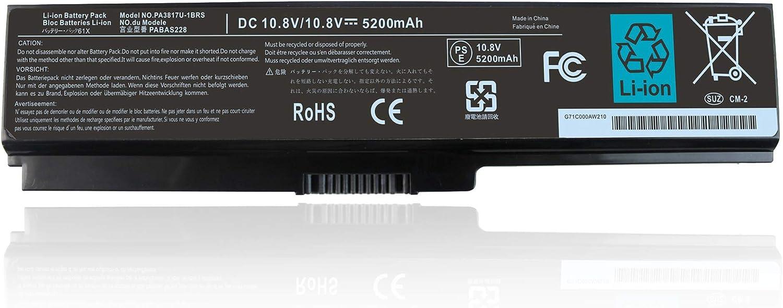48W New PA3817U-1BRS PA3819U-1BRS Battery for Toshiba Satellite A665 A665D A660 C650 C655 C655D L655 L755 L775 L745 L675 P740 P755 A665-S5170 C655D-S5535 L755-S5167 L745-S4210 Series PA3817U-1BAS
