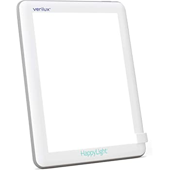 Verilux HappyLight VT22 Lucent 10,000 Lux LED Bright White Light Therapy Lamp with 35 sq. in. Lens Size