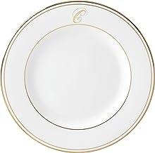 Lenox Federal Gold Script Monogram Dinnerware Salad Plate, C