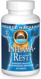 Sponsored Ad - Source Naturals Inflama-Rest Healthy Inflammation Response - Herbal & Mineral Blend with Turmeric, Boswelli...