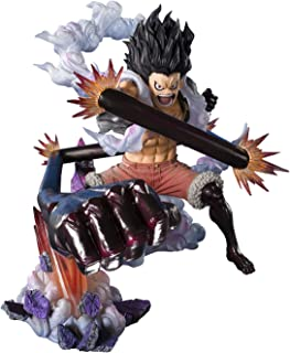Tamashii Nations Bandai Figuartszero Monkey D Luffy Gear 4 Snakeman King Cobra Onepiece Statue