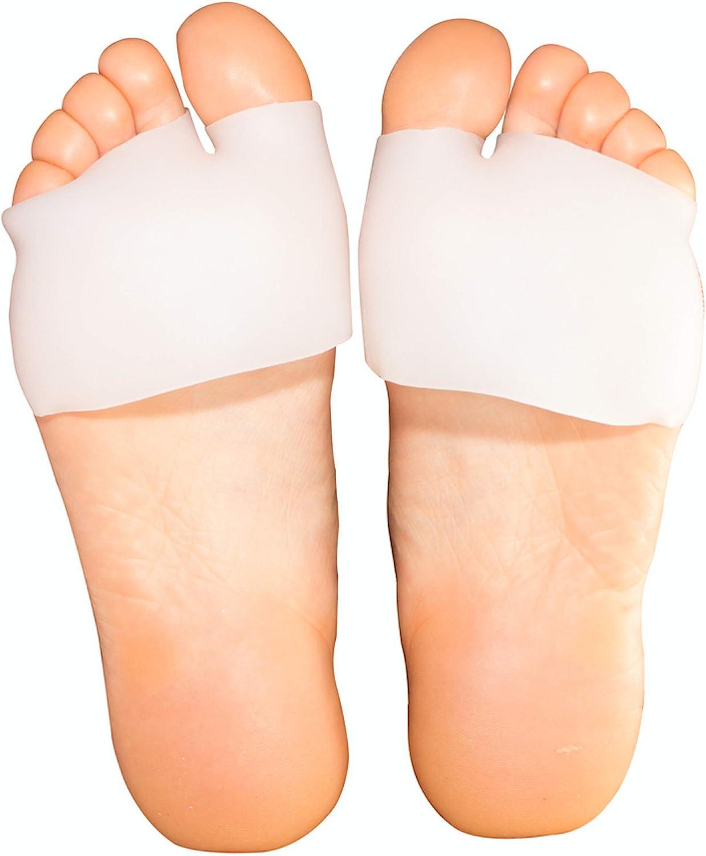 2 Pairs Half Toe Sleeve Metatarsal Bunion Phoenix Mall - Long Beach Mall Forefo Cushion Pads-