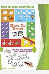 How to Draw: 16 in 1 Drawing Books COLLECTION(how to draw the farm, the garden, prehistoric world, fashion, vehicles, wild animals, art, birds, sea, pirates) Kindle Edition