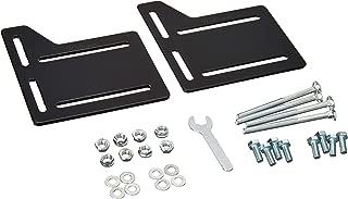 Weltraum Queen Bed Modification Plate Modi, Headboard Attachment Bracket, Brackets Bed Frame Headboard Adapter Kit Mounting Hardware (2 Pack, 4 MM Steel)