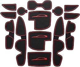 Proposteonline Vasca Tappeto Copertura Multiuso per Baule Bagagliaio Auto Nera Compatibile con Hyundai I30 5 Porte dal 2007 al 2012 3409