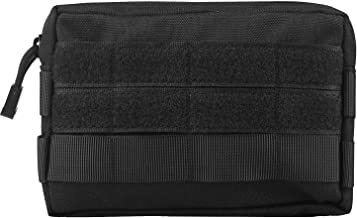 Infityle Tactical MOLLE Pouches - EDC Compact Water-Resistant Multi-Purpose Utility Pouch Gadget Gear Hanging Waist Bags