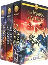 Heroes of Olympus Series 3 Books Collection Set By Rick Riordan (The Mark of Athena, The House of Hades, The Blood of Olym...