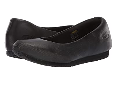 Keen Utility Soft Toe Kanteen Hostess Flat (Black/Magnet) Women