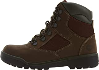 Timberland 6'' Leather/Fabric Field Boot (Little Kid)