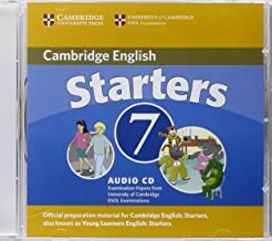 Cambridge Young Learners English Tests 7 Starters Audio CD: Examination Papers from University of Cambridge ESOL Examinations
