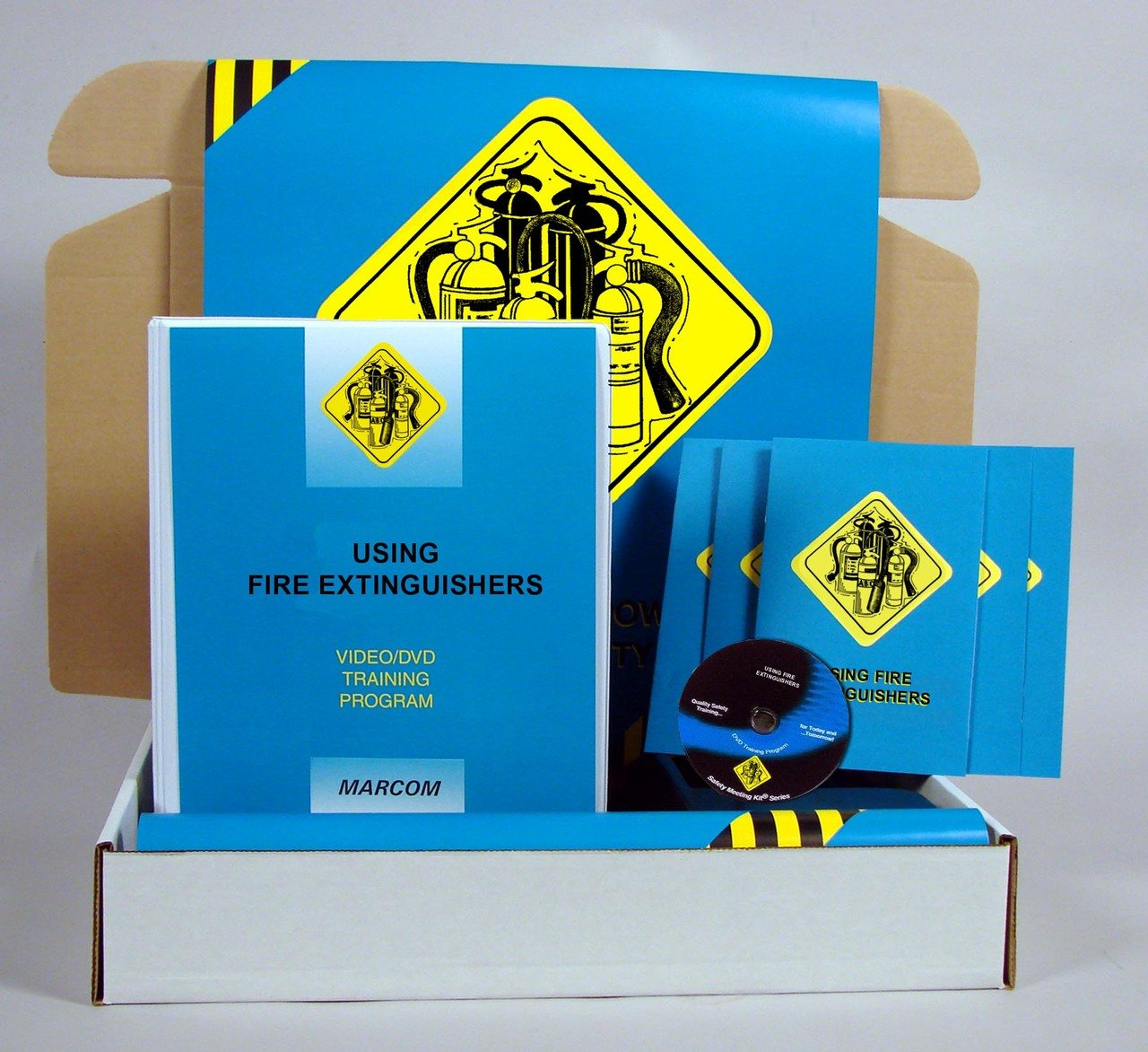 Houston Mall Marcom Group K0002079EM Fire Low price Healthcare Prevention DVD Training