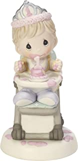 Precious Moments Have A Smashing Birthday Baby Girl's First Birthday Bisque Porcelain Figurine 182001