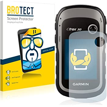 BROTECT Schutzfolie kompatibel mit Garmin eTrex 30 (2 Stück) klare Displayschutz-Folie