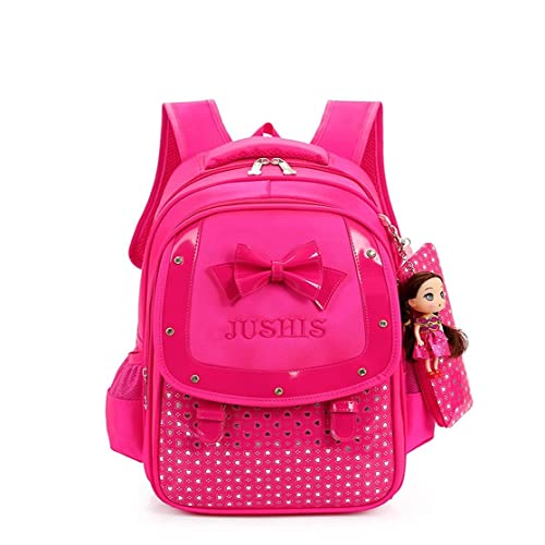 1fdaf732ee5e HGDGears Children s Backpacks Cute Kids School Bags for Primary Girls  Students (Rose)