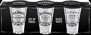 Jack Daniel's Licensed Barware Shot Glass, Set of 3