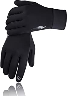 SIMARI Winter Gloves Men Women Touch Screen Glove Cold Weather Warm Gloves Workout Gloves Running Cycling Training