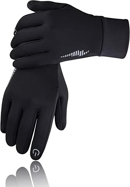 Winter Gloves Men Women Touchscreen Running Gloves Cold Weather Warm Gloves Driving Cycling Texting Workout Training