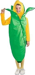 Forum Novelties Fruits and Veggies Collection Ear 'O Corn Child Costume, Medium