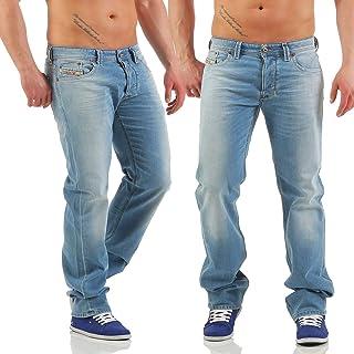 Diesel Mens Stretch Jeans Larkee 0850V Light Blue