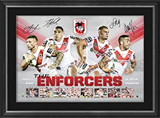 Sport Entertainment Products St George Illawarra Dragons Signed 'Enforcers'