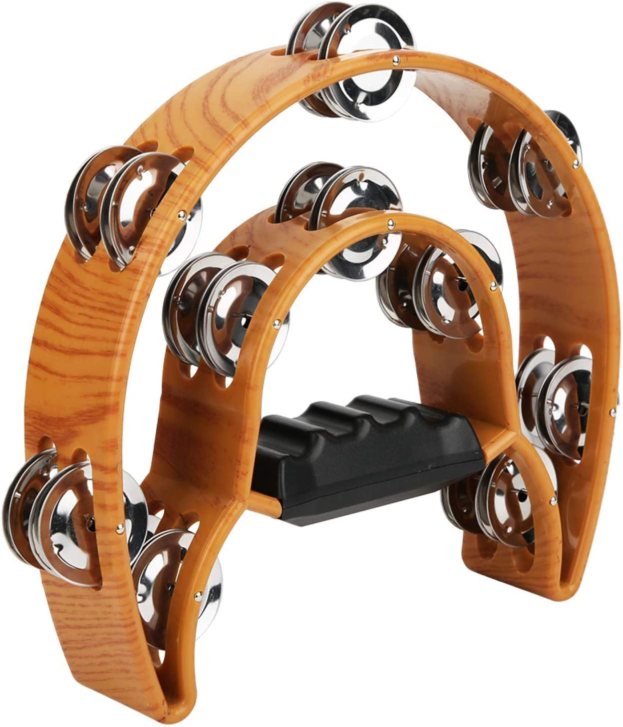 Double Row Tambourine Percussion Max 60% OFF Rattle Ranking TOP11 Double-layer Instrument