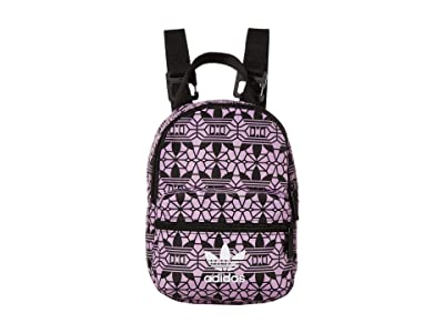 adidas Mini Graphic Backpack (Black/Multi) Backpack Bags