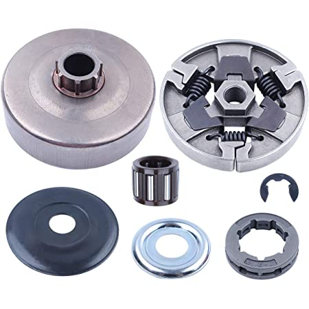 Fit for Stihl MS460 Chain Sprocket /& Clutch /& Drum /& Bearing Worm Gear /& E-Clip