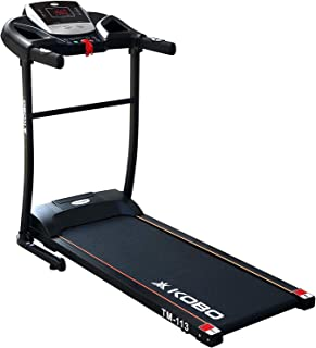 Kobo Fitness 1 H.P Peak Motorized Treadmill with LED Display and Installation Free, Ready to Use Home Use Jogger 2021 Mode...