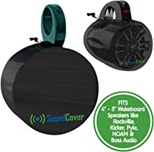 2 (Two) Speaker Covers for Round 4