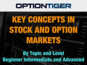Key Concepts in Stock and Option Markets by Topic and Level Beginner Intermediate and Advanced