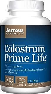 Jarrow Formulas Colostrum Prime Life, Promotes Immune and Gastrointestinal Health*, 500 mg, 120 Capsules