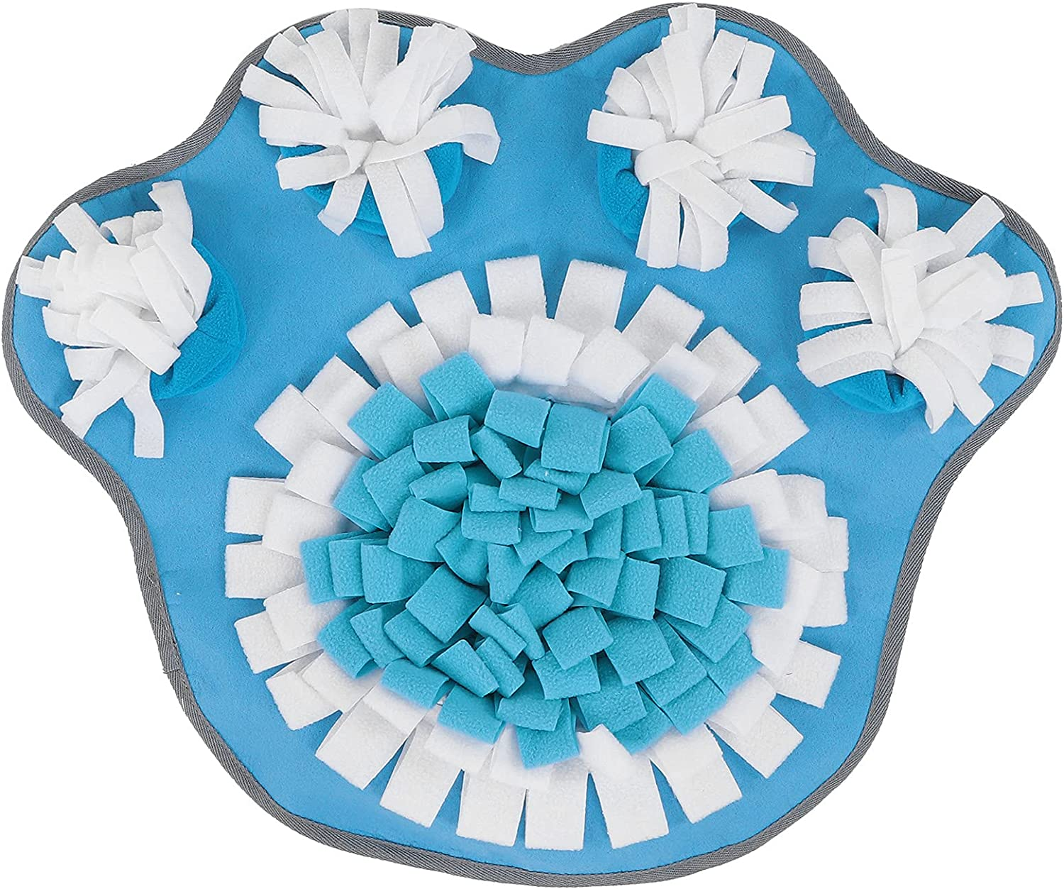 At the price of surprise GLOGLOW Pet Snuffle Mat Animal Sniffing P Flannel Factory outlet Shape Paw