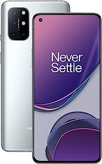 OnePlus 8T 5G 8GB RAM 128GB Storage UK SIM-Free Smartphone with Quad Camera, 65W Warp Charge and Dual SIM - Lunar Silver -...