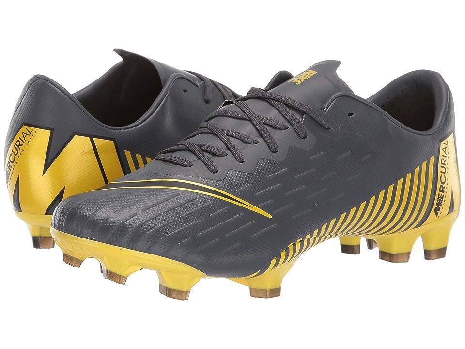 Nike Vapor 12 Pro FG (Dark Grey/Black/Dark Grey) Men's Soccer Shoes