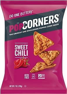 PopCorners Sweet Chili Snack   Gluten Free, Vegan Snack   (12 Pack, 7 oz Snack Bags)