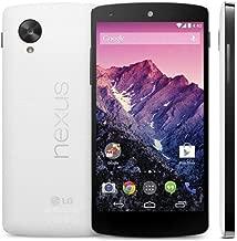 Google Nexus 5 Unlocked GSM Phone, 32Gb (White) D821 - No 4G in USA - 'International Version No Warranty'