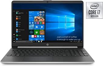 HP 15t Laptop PC 15.6 Inch HD WLED 256GB SSD + 16GB Intel Optane Laptop (i7-1065G7, 8GB RAM, Iris Plus Graphics, Windows 1...