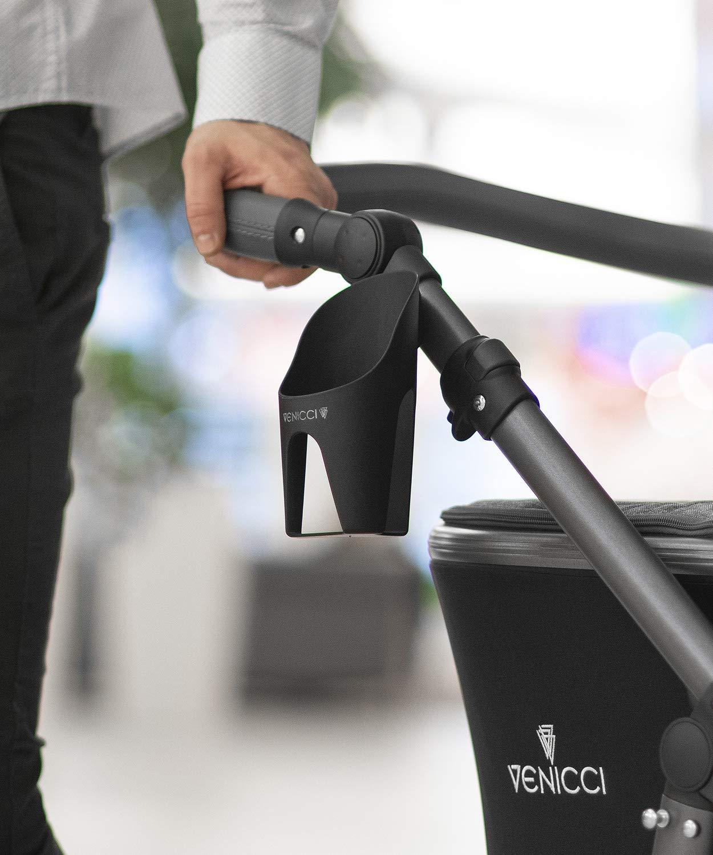 Venicci Carbo Lux 2 in 1 Travel System - Black/Graphite
