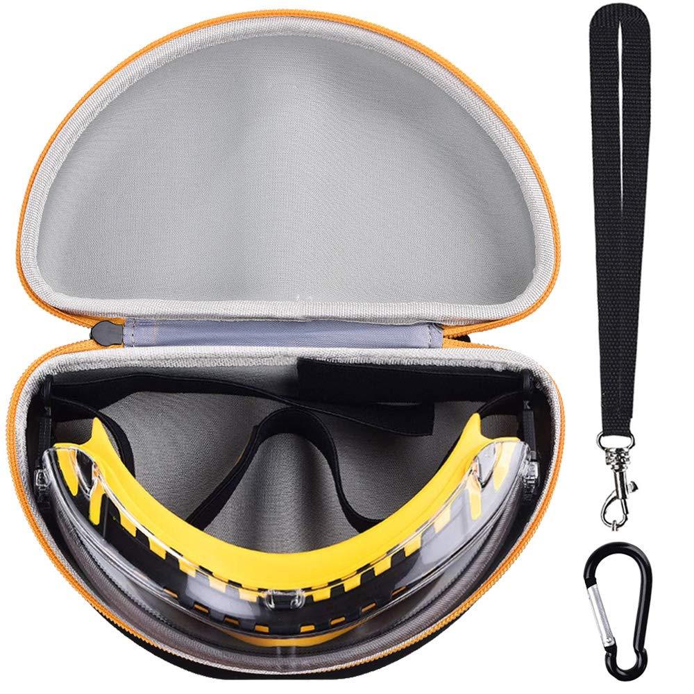 Smoke Anti-Fog Lens 1 Pairper Pack DeWalt DPG82-21 Concealer SAFETY Goggle
