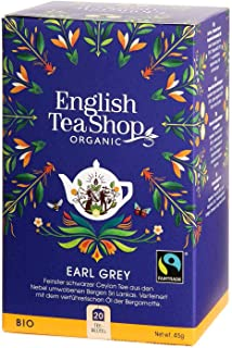 English Tea Shop - Earl Grey, BIO Fairtrade, 20 Teebeutel - DE-Version