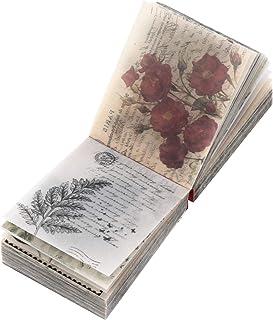 Artibetter 365 Feuilles Vintage Scrapbooking DIY Matériel Papier Journal Journal DIY Embellissement Fournitures pour Scrap...