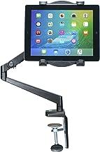 CTA Digital PAD-TAM Tabletop Arm Mount for 7-12-Inch Tablets, including 11-inch iPad Pro (2018), iPad Gen. 6 & 5