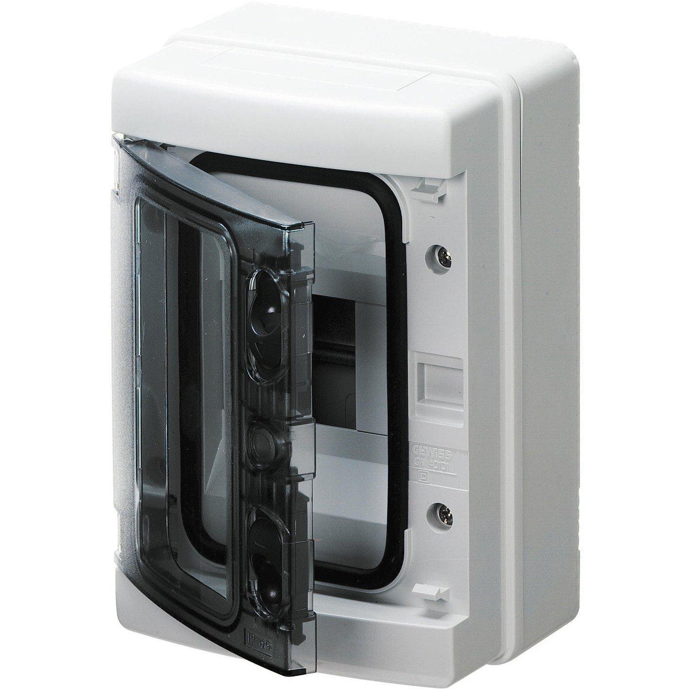 Gewiss GW40101 caja eléctrica - Caja para cuadro eléctrico (143 mm, 100 mm, 210 mm): Amazon.es: Bricolaje y herramientas
