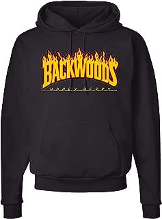 TryMeDesigns Backwoods Fire Hoodie Sweatshirt