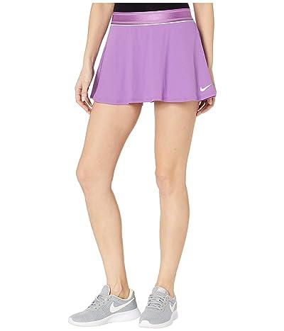 Nike Court Dry Skirt Flouncy (Purple Nebula/White/White) Women