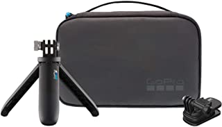 GoPro Travel Kit: Includes Magnetic Swivel Clip, Shorty, and Compact Case - Official GoPro Product, AKTTR-002