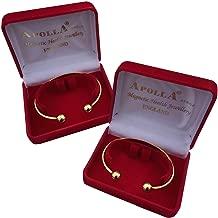 Medipaq 2X Magnetic Arthritis Health Bangle (Torque Bracelet) 24K Gold-Plated