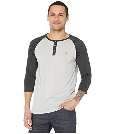 tentree Treeblend Planter Shirt (High-Rise Grey Heather/Meteorite Black Heather) Men