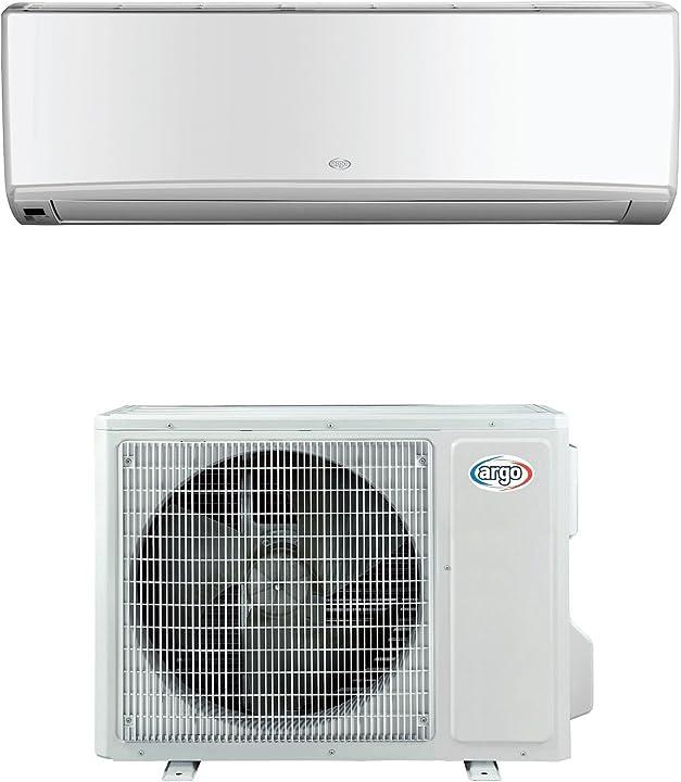 climatizzatore, 143875 w, 143875 v, bianco, 9000 btu/h, set di 2 pezzi argo wall 9 mono b01msif8gz